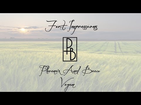 Final Review - Phoenix and Beau Vegan Formula