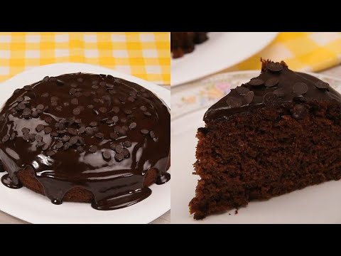 No eggs chocolate cake the secret to make it soft with few ingredients