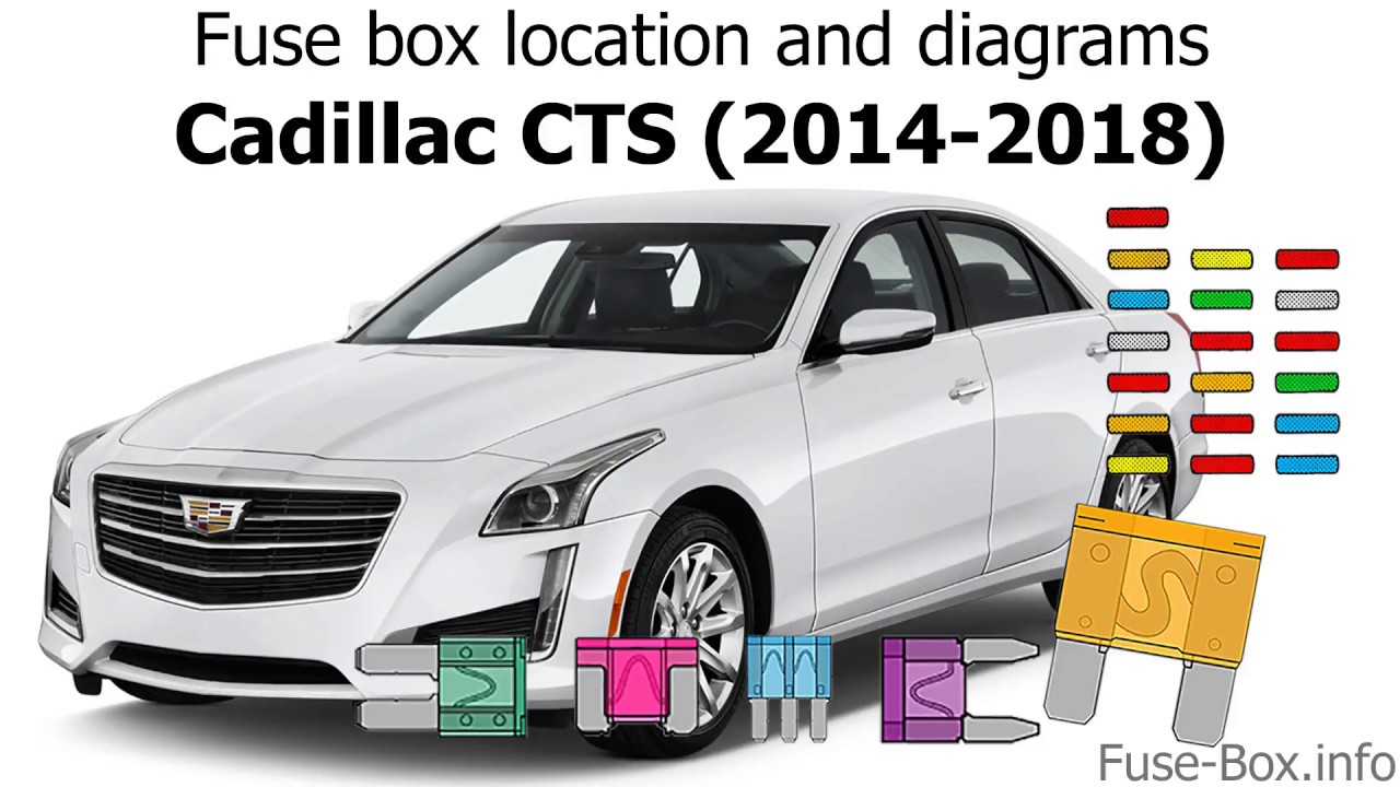 fuse box location and diagrams cadillac cts 2014 2018  [ 1280 x 720 Pixel ]