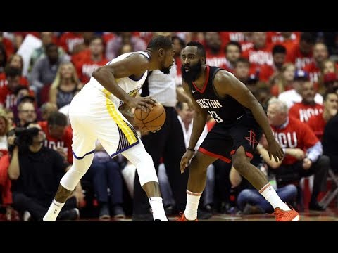 Rockets Blowout Warriors Game 2! Durant 38 Pts! 2018 NBA Playoffs