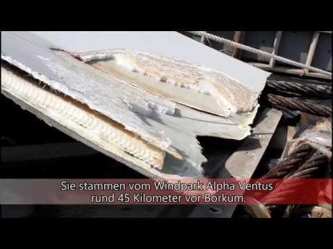 Windkraftanlagen-Bauteile abgebrochen (Cuxhavener Nachrichten/Niederelbe-Zeitung)