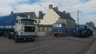 Balade de vieux camions en Normandie 2016 organisé par l'A.N.A.U.