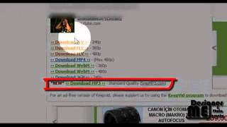 Keepvid İle Video Ve Mp3 İndirmek ( Mp3 and Video Download ) Mp3
