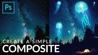 How to Create a Siṁple Composite in Photoshop