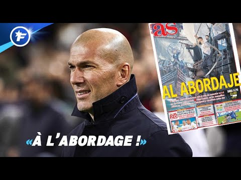 La folle statistique de Zinedine Zidane rassure le Real Madrid | Revue de presse