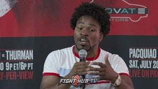 """SHAWN PORTER """"PACQUIAO CAN ALMOST THROW PUNCHES WITH HIS EYES CLOSED!"""" EXPLAINS WHY"""