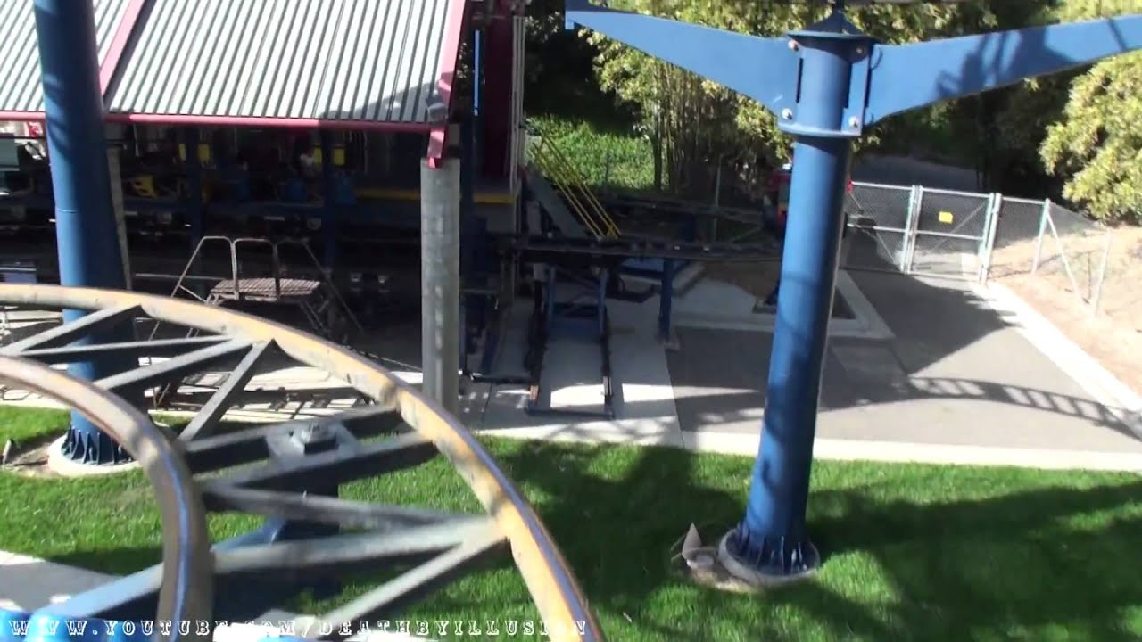Lego Technic Test Track Coaster Front Seat Hd Pov Legoland California
