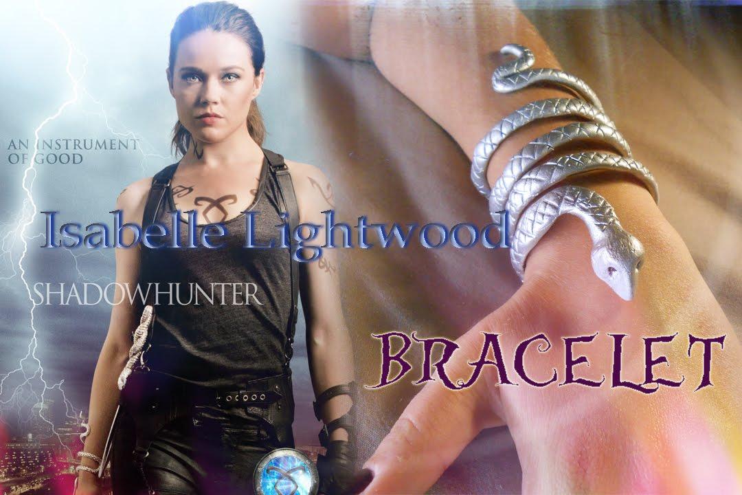 vestibilità classica vendita usa online brillantezza del colore DIY Isabelle Lightwood Bracelet || SHADOWHUNTER || The Mortal Instruments