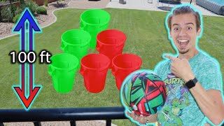 Don't Choose the WRONG Mystery Bin!! (Drop Challenge)