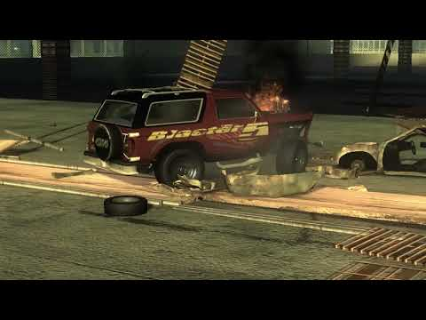 flatout 3 : derby 3 with replay with my car of blaster XL