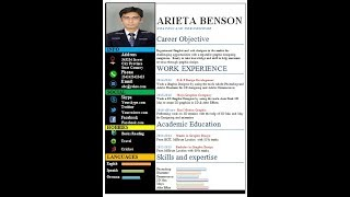 How to write a Resume or CV in Microsoft Word
