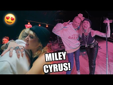 I MET MILEY CYRUS!! *Best Day Of My Life*