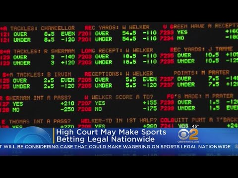 High Court may Make Sports Betting Legal Nationwide
