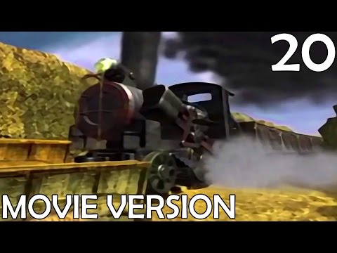 Final Fantasy VII - Movie Version - Part 20 - Confused Cloud & The Runaway Train