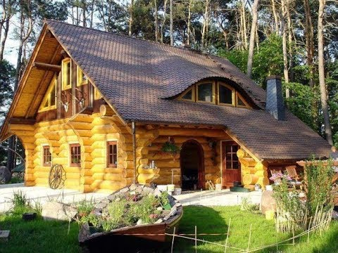 Cabane din lemn, poze frumoase