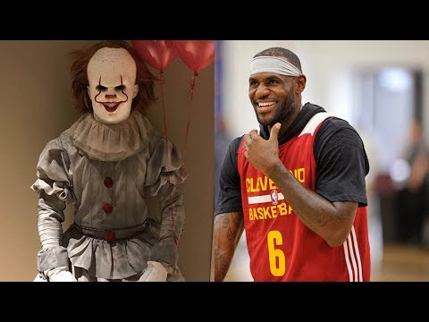 HELL NAW! LeBron James Dresses as Pennywise from