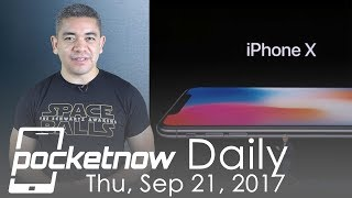 iPhone X price justified by CEO, BlackBerry Krypton leaks & more   Pocketnow Daily