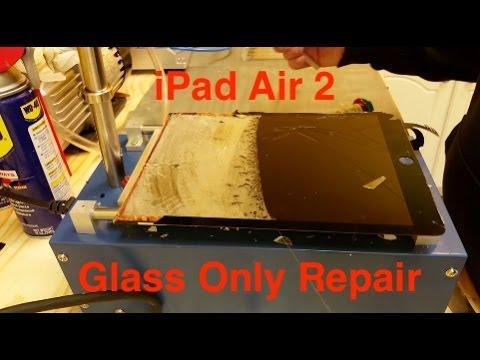 ipad air 2 cracked glass