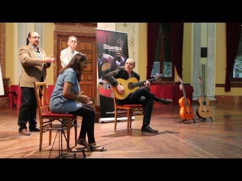 Taller de guitara flamenca, Paco Rus interpreta por tangos