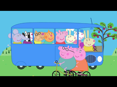 The Wheels on The Bus Peppa Pig HD