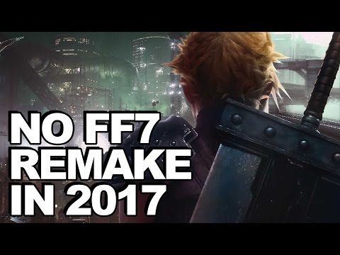 Final Fantasy 7 Remake Not Releasing In 2017, Square Enix Tells Investors
