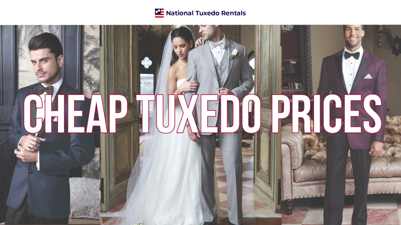 Affordable Tux Rentals | Cheap Tuxedos as Low as $69 - NTR