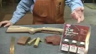 Sanding and Finishing Boyds' Gunstocks