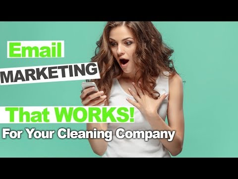 Email Marketing for Cleaning Services Made Simple and Effective