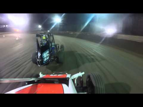 Max Pozsgai - IRS - LaSalle Speedway - Feature (RAW) - Forward View