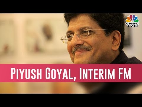 Piyush Goyal Named As The Interim Finance Minister