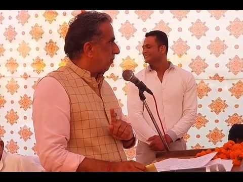 Minister Krishan Pal Gurjar Attacks Haryana Ex CM Bhupinder Hooda & MLA Lalit Nagar