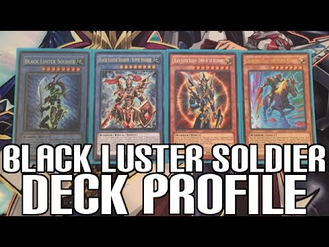 Yugioh Black Luster Soldier Deck Profile - Ritual Monsters Ready for Link Summoning