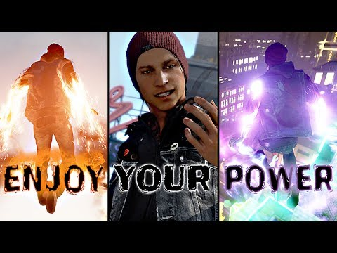 Infamous Second Son All Powers And Abilities Neon, Smoke, Video, Concrete