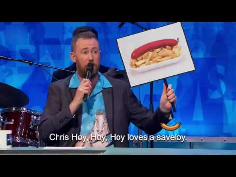 Alex Horne & The Horne Section - Chris Hoy Loves a Savaloy (8 out of 10 cats does countdown)
