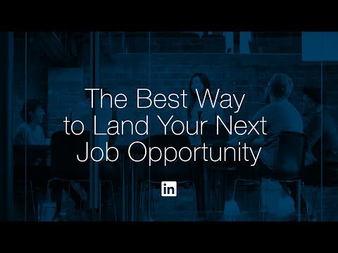 Networking your way into your next job opportunity