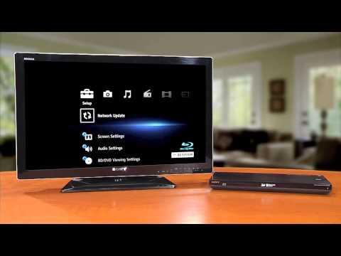 Sony®Como realizar una actualización por la red en tu reproductor de discos BluRay