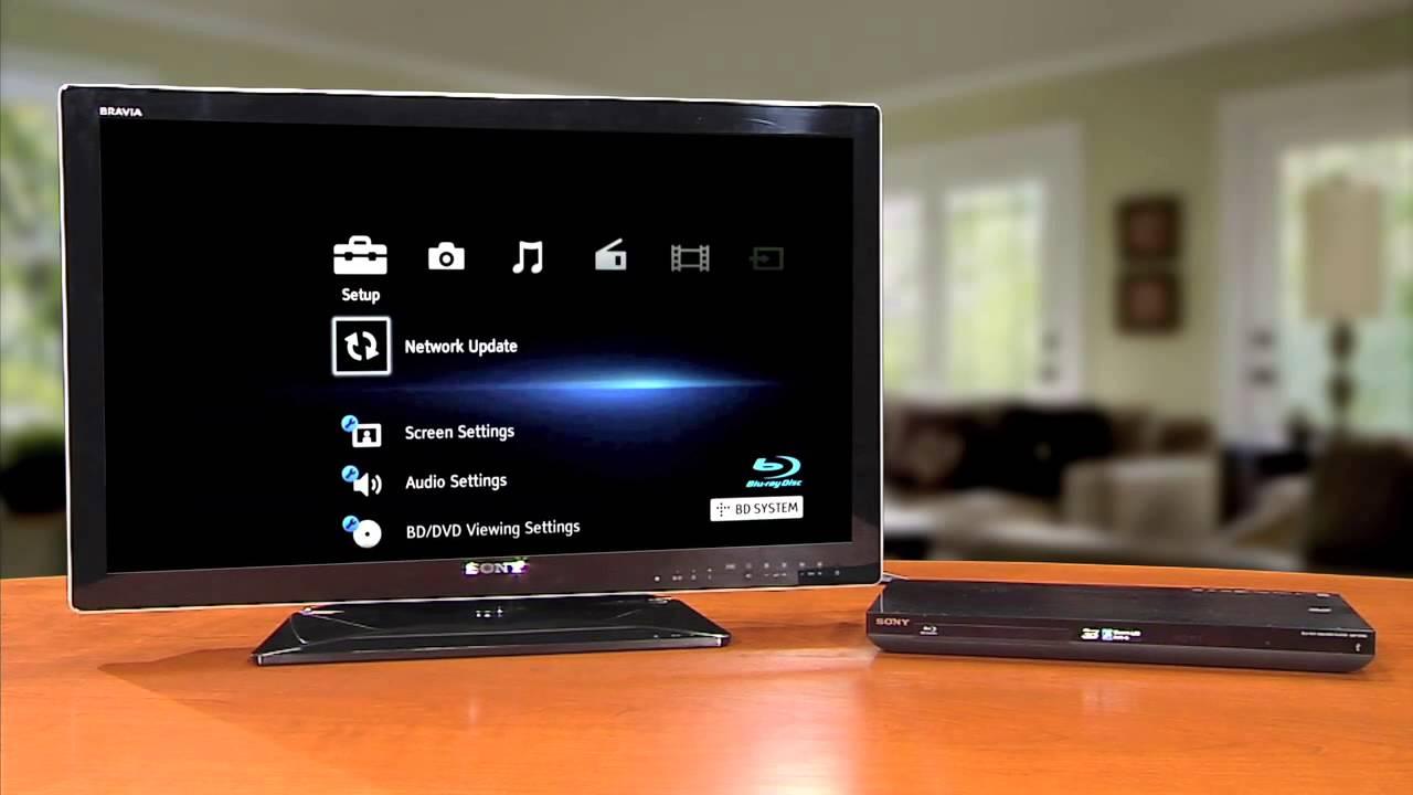 sony como realizar una actualizaci n por la red en tu reproductor rh youtube com Sony Portable Blu-ray Player Sony Blu-ray Menu