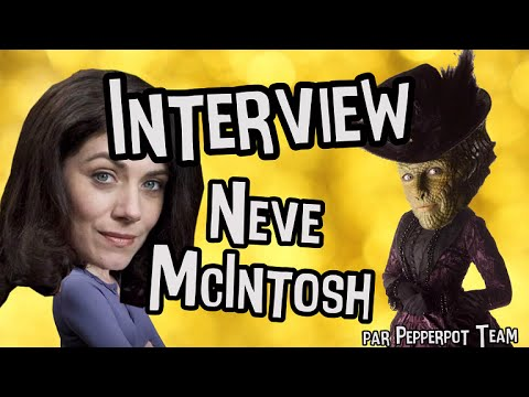 NEVE MCINTOSH (Madame Vastra) - DOCTOR WHO Interview