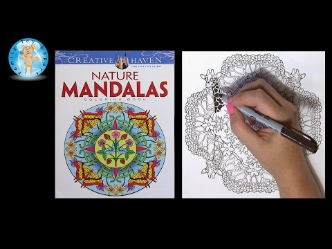 Creative Haven Nature Mandalas by Marty Noble Adult Coloring Book Giraffe - Family Toy Report