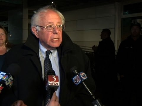 Sanders Returns to VT After Losing NY Primary