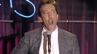 Tim Allen Grunts up a Storm at Rodney's Place (1989)