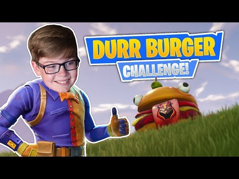 Playing Fortnite With NO WEAPONS! Durr Burger CHALLENGE & New Rift-To-Go!