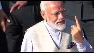 Lok Sabha Elections 2019: PM Modi casts his vote in Ahmedabad