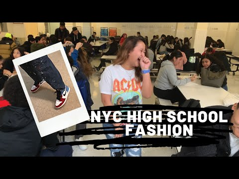 WHAT NEW YORKERS ARE WEARING: HIGH SCHOOL EDITION NYC 2019