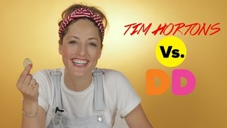 Dunkin' Donuts Vs. Tim Hortons Taste Test: The Doughnut Showdown