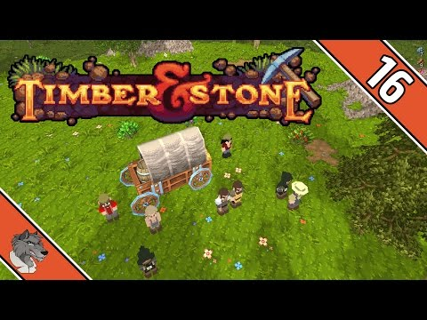 Timber & Stone (Beta 1.7) - #016 Jonglieren mit Jobs - Preview Let's Play