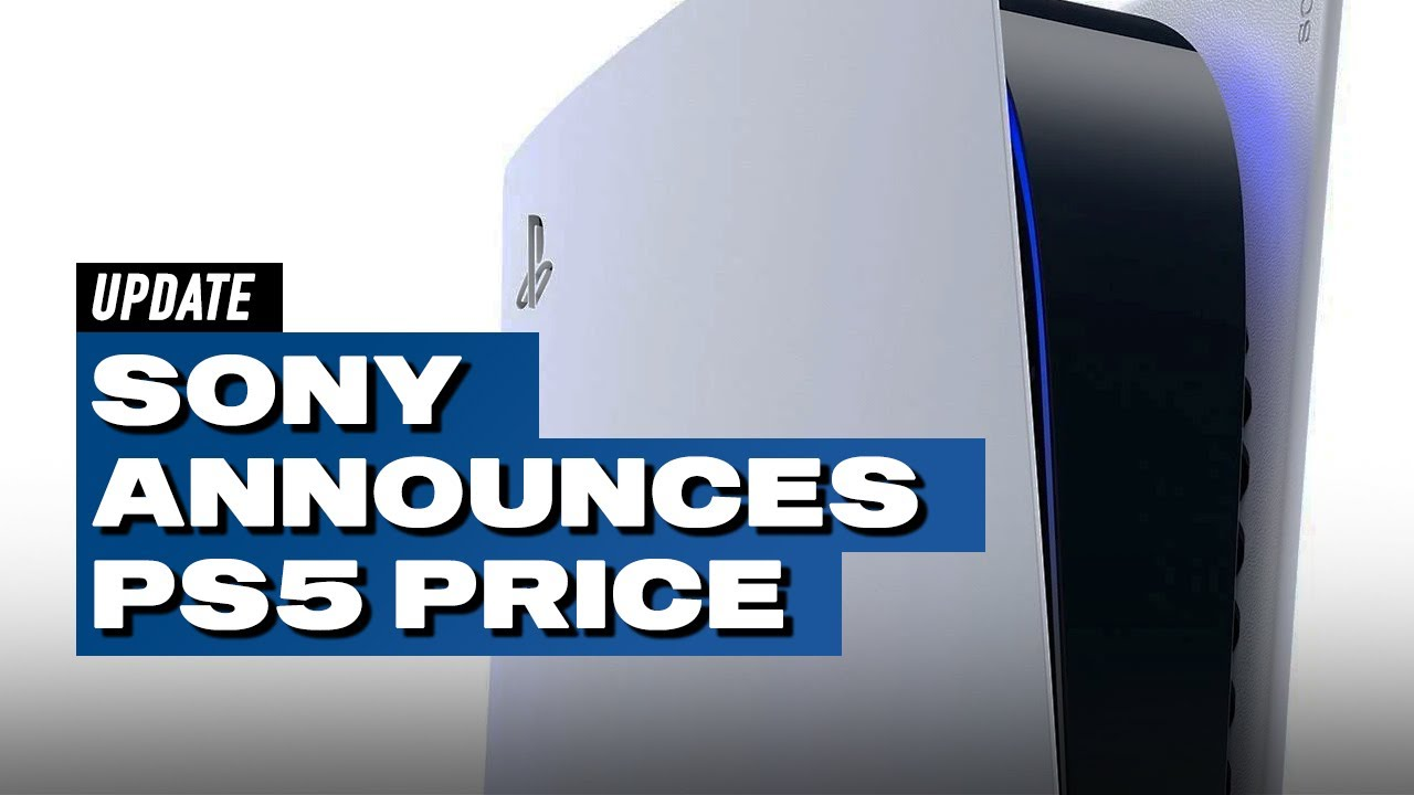 Ps5 Is Usd Eur 499 And Usd Eur 399 Releases November 12 In North America November 19 In Eu Youtube