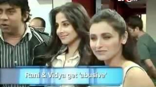 Rani & Vidya's gaali war