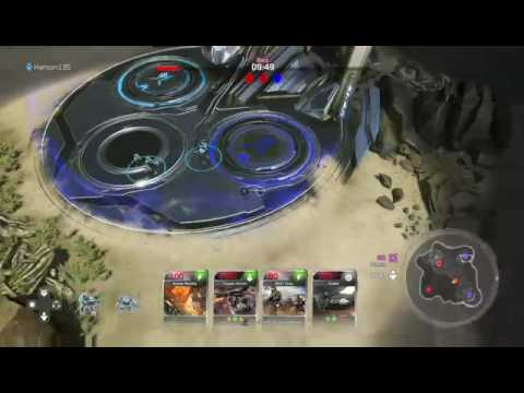 HALO WARS 2 BLITS BETA | HE'S STEALING MY ENERGY CORES:(