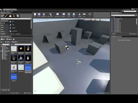 Unreal Engine 4: Blueprints tutorial - Pawn mouse rotation